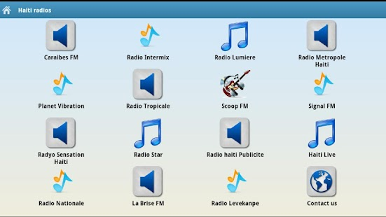 Haiti Radios- screenshot thumbnail