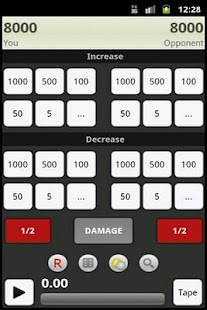 Yugioh Duelist Calculator Lite - screenshot thumbnail
