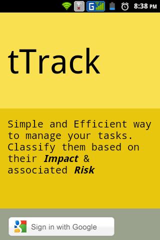 tTrack