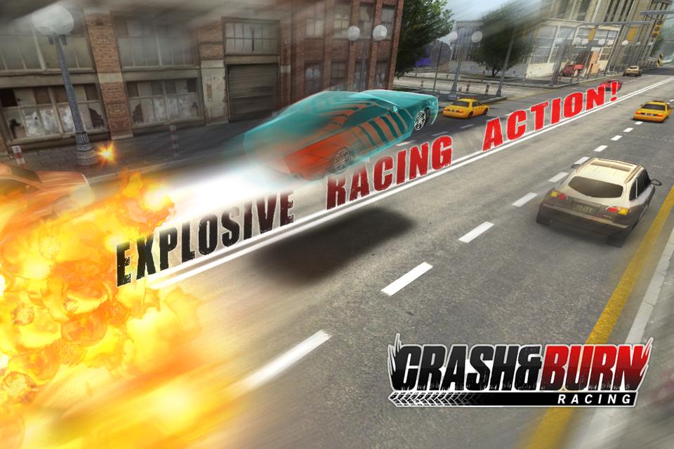 Crash and Burn Racing screenshot #1