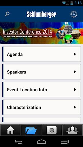 【免費商業App】SLB 2014 Investor Conference-APP點子