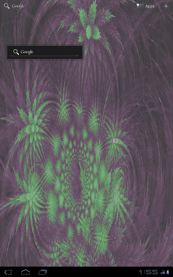 Psychedelic Light Show LWP - screenshot
