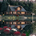 Log Cabin Live Wallpaper