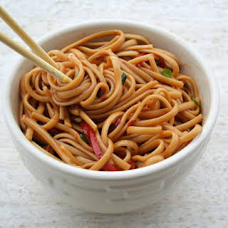 Easy Spicy Sesame Noodles.