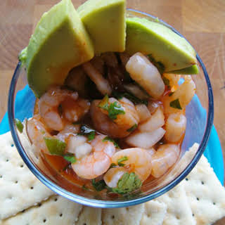Mexican-Style Shrimp Cocktail.