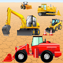 Digger Puzzles for Toddlers ! icon