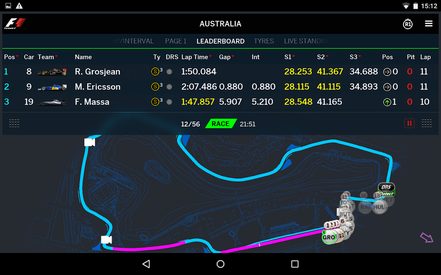 Official F1 ® App - screenshot