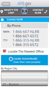 NLRB Guide- screenshot thumbnail