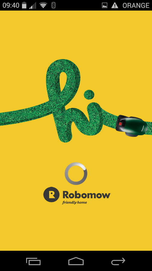 Robomow App - screenshot