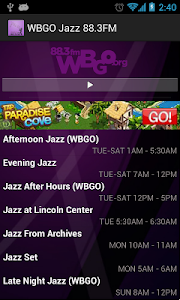 WBGO Jazz 88.3FM screenshot 2