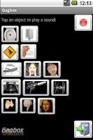 Screenshot of Gagbox Sound Effects Machine