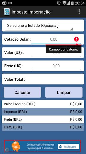 【免費財經App】Imposto Importação-APP點子