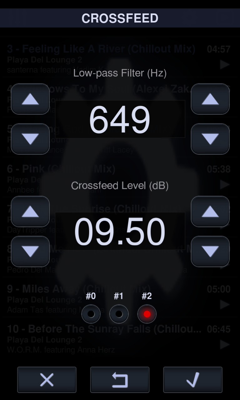Neutron Music Player screenshot #8