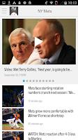 Screenshot of NJ.com: New York Mets News
