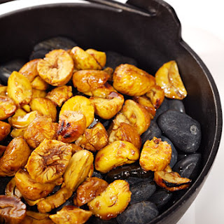 Chestnuts in Soy Caramel