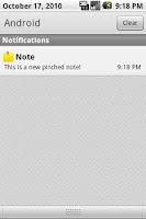 Screenshot of Pinched Notes HD