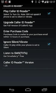 Caller ID Reader Pro - Speaks - screenshot thumbnail