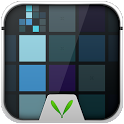 Blue Cube Live Locker Theme icon