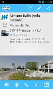 Metano by Prezzi Benzina - screenshot thumbnail