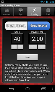 iSnipe Hockey Shooting Trainer - screenshot thumbnail