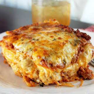 Cajun Lasagna.