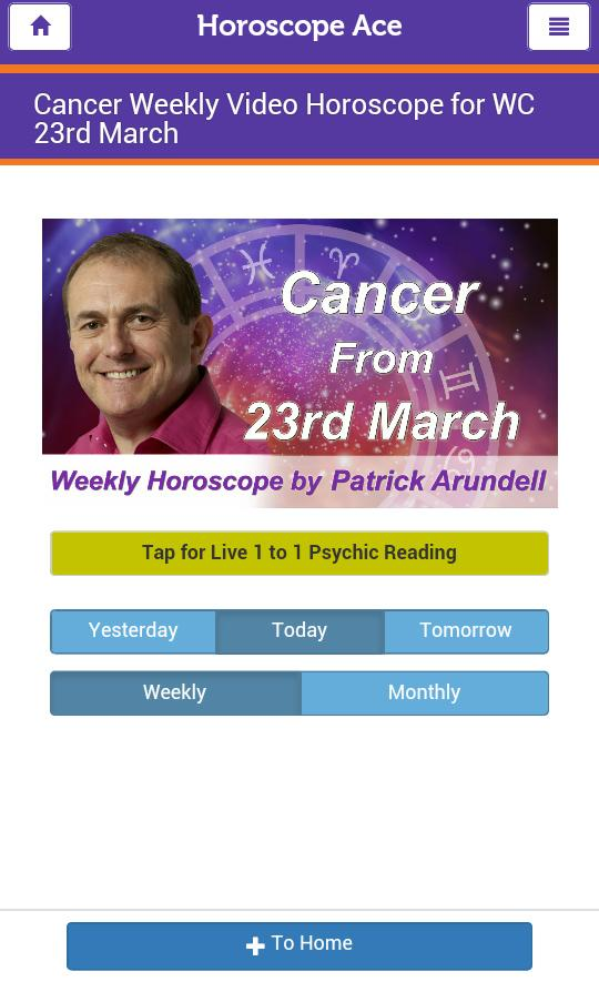 Horoscope Ace- screenshot