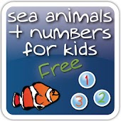 Sea Animals + Numbers free