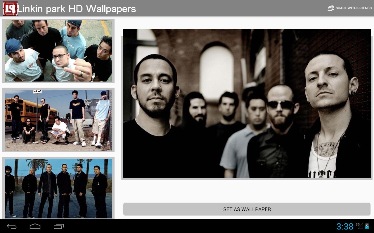 Linkin park HD wallpapers - screenshot