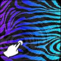 Zebra Purple Live Wallpaper icon