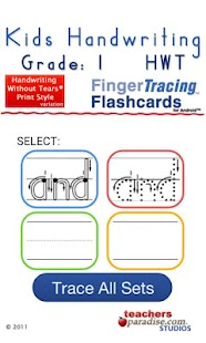 Kids Handwriting Grade 1 HWT - screenshot thumbnail