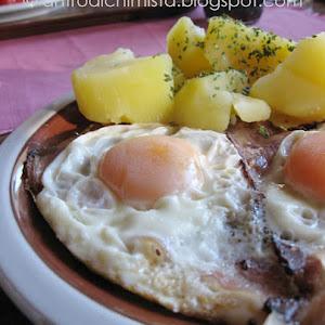 Smoked Ham and Egg