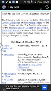 Roman Catholic Mass Guide - screenshot thumbnail