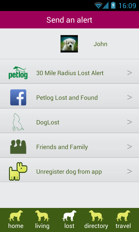 MyDog - screenshot