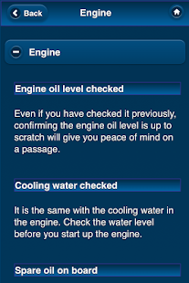 DAG PIKE'S BOATING CHECKLISTS- screenshot thumbnail