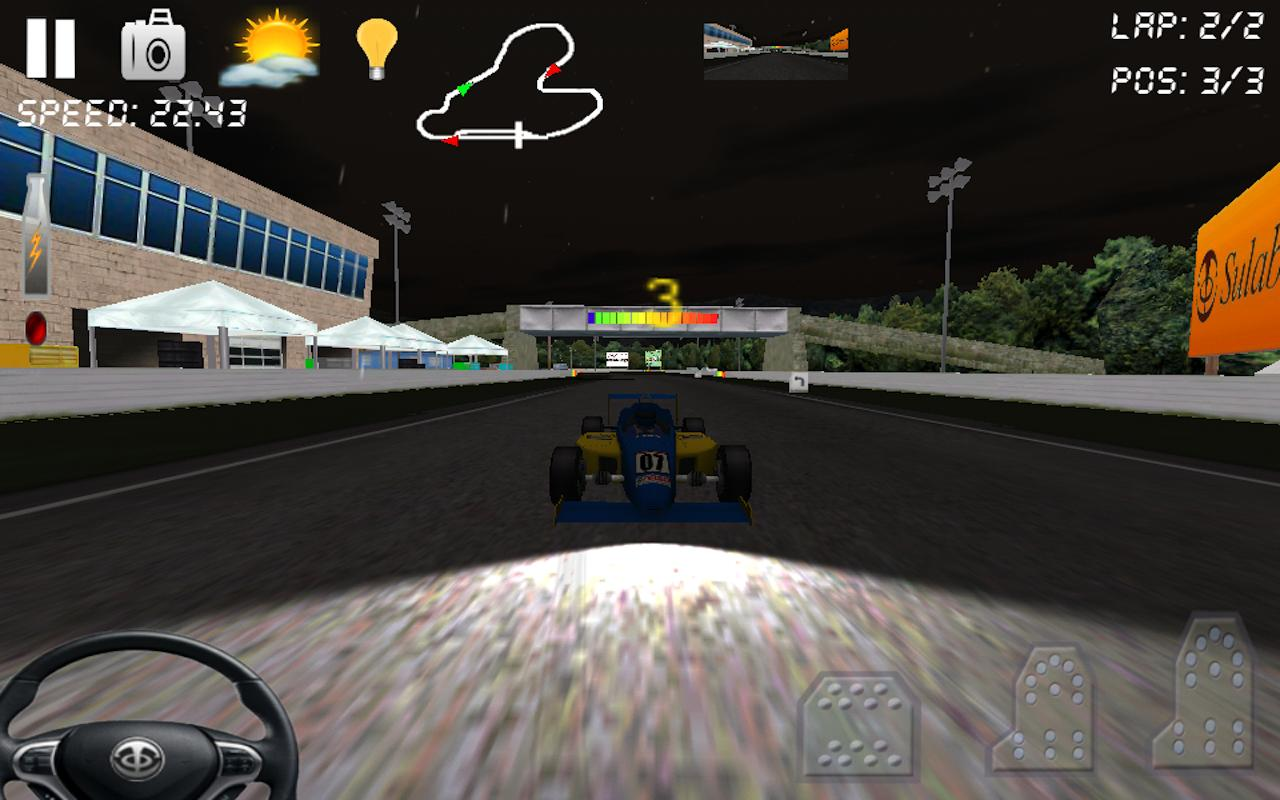 Race Rally 3D Game- screenshot
