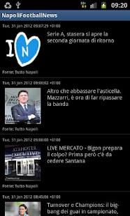 Napoli Football News- screenshot thumbnail