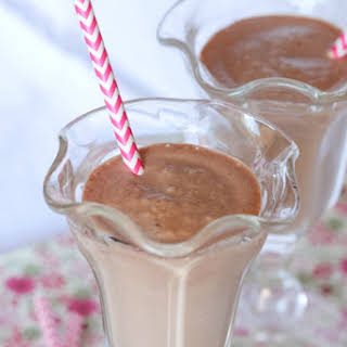 Hazelnut Chocolate S'mores Orange Milkshake.