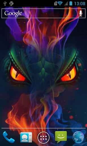 Dragon's eyes live paper