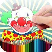 Coloring Book Clown