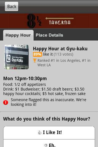 Happy Hours - screenshot