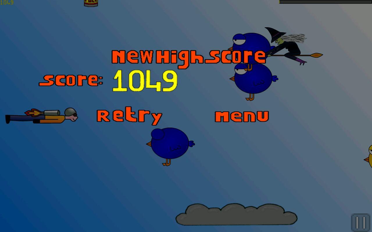 SkyRocket- screenshot