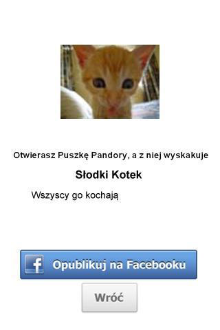 Puszka Pandory - screenshot