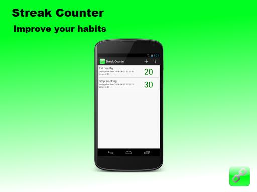 Streak Counter - Build habits