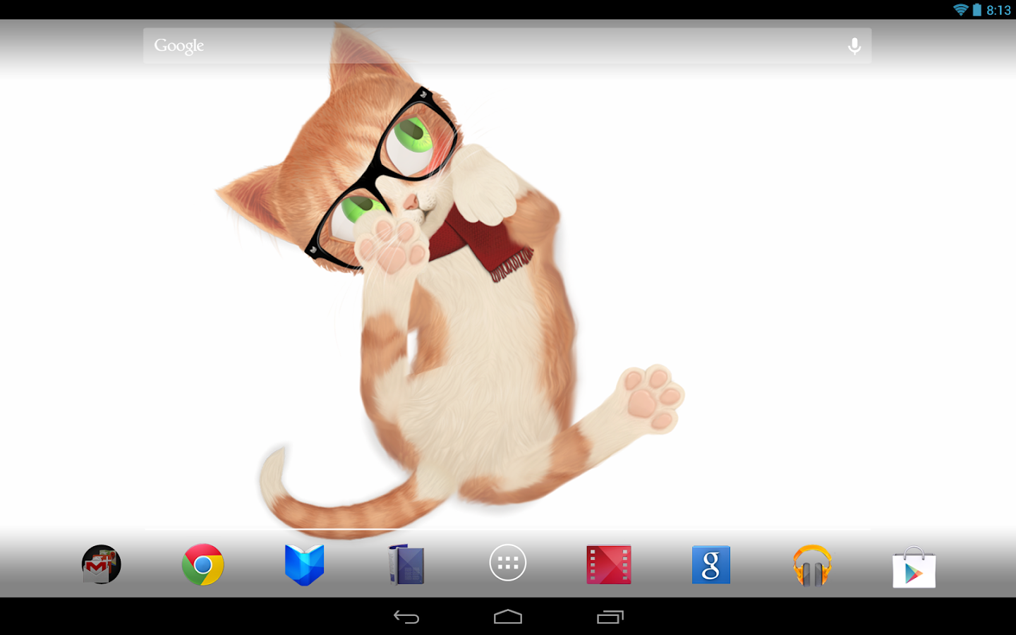 Cat Live Wallpaper - screenshot