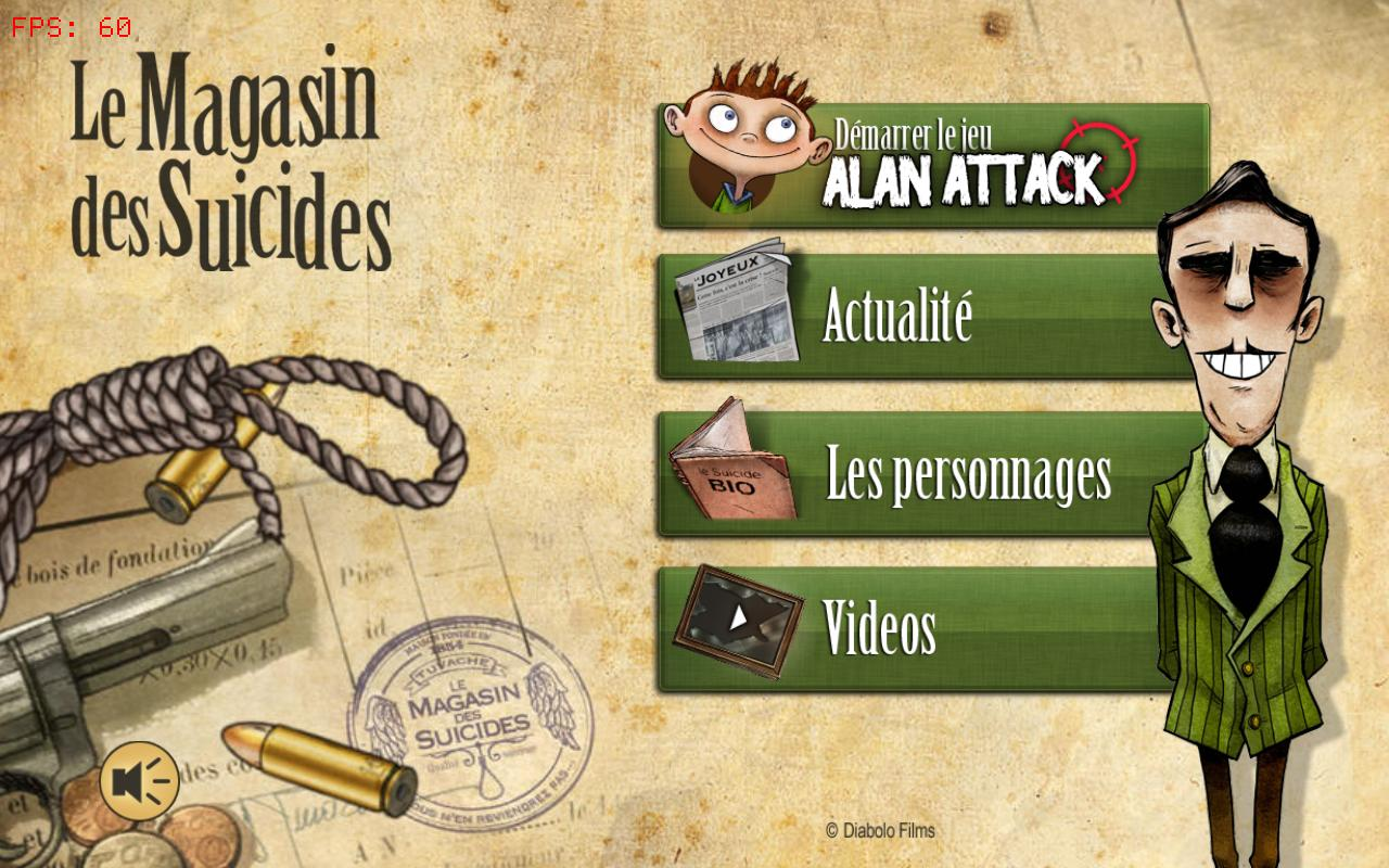 Le Magasin des Suicides- screenshot