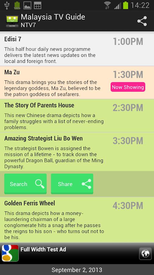 8tv malaysia schedule: