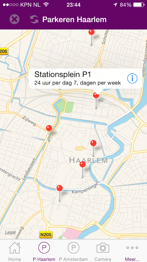 UITkrant Haarlem- screenshot