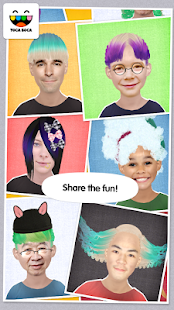 Toca Hair Salon Me- screenshot thumbnail