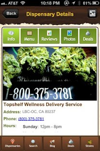 THCFinder - Dispensary Finder - screenshot thumbnail