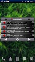 Screenshot of BugDroid